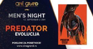 Predator: Evolucija - Men's Night u bioskopu Cine Grand