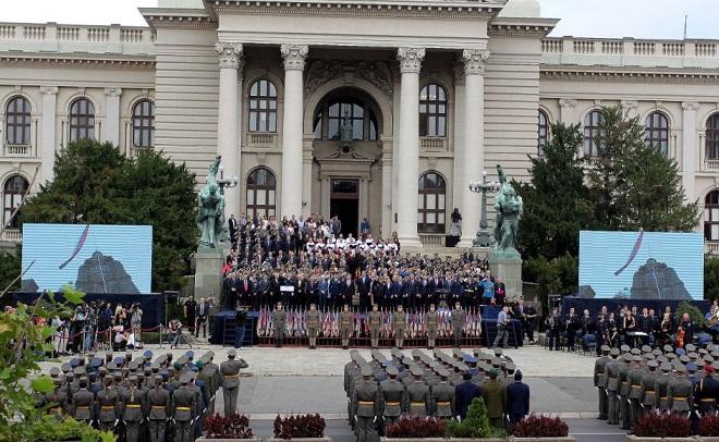 Promocija najmlađih oficira Vojske Srbije (foto: Ministarstvo odbrane, arhiva)