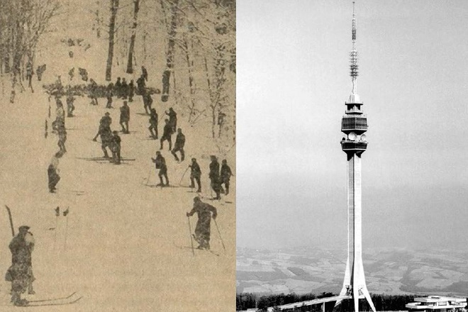 Ski staza na Avali?! (foto: beograd.rs)