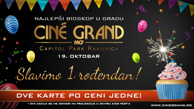 Godinu dana bioskopa Cine Grand