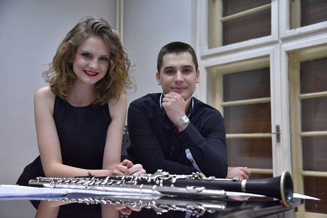 FMU i Guarnerius nagrađuju: Mirjana Anović i Miloš Đorđević (foto: Ana Nikolić)