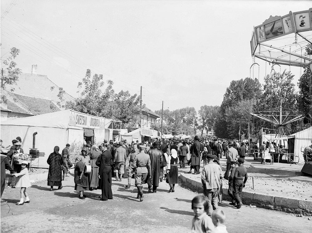 Krstovdanski vašar - 27. 9.1937. (foto: Muzej grada Beograda)