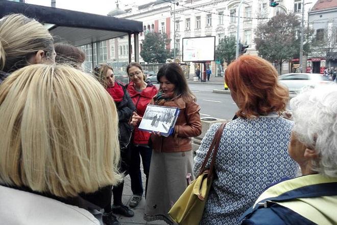 Ljubavna šetnja Beogradom
