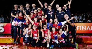 Odbojkašice Srbije - svetske prvakinje (foto: ossrb.org)