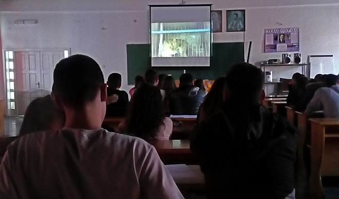 Putujući školski bioskop Slobodna zona Junior u Priboju 2017. godine
