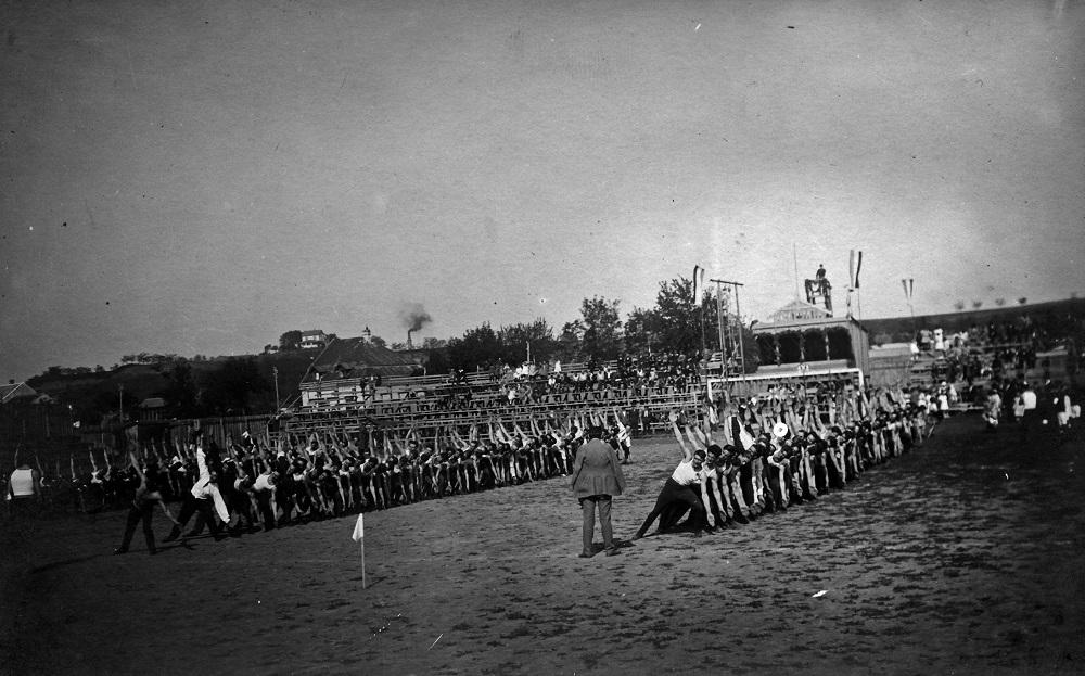Sokolski slet - maj 1926. (foto: Muzej grada Beograda)