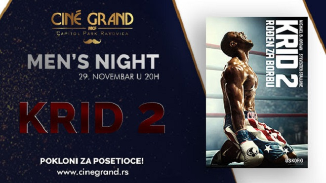 Cine Grand: Men's Night