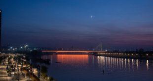 Most Gazela: novo dekorativno osvetljenje