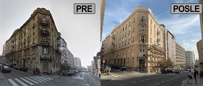 Rekonstrukcija fasada u Beogradu