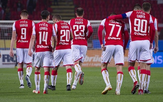 Liga šampiona: Crvena zvezda - PSŽ (foto: CZ)