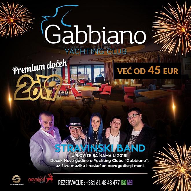 Doček Nove godine 2019: Gabbiano