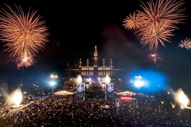 Doček Nove godine 2019. u Beču (foto: Stadt Wien marketing)