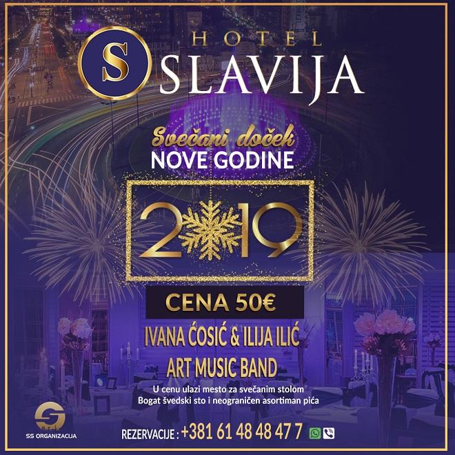 Doček Nove godine 2019: Slavija