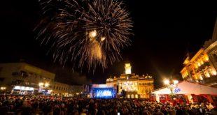 Doček Nove godine u Novom Sadu (foto: Aleksandar Kamasi)