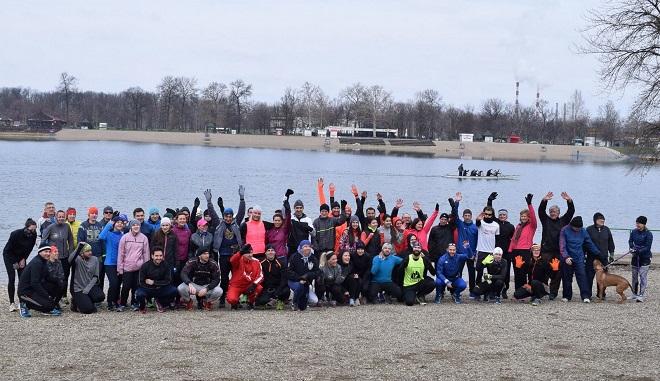 Beogradski maraton: Javni trening