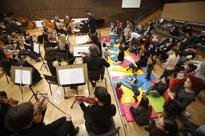 Beogradska filharmonija: koncerti za bebe