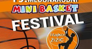 "19. Minibasket festival ""Rajko Žižić"""