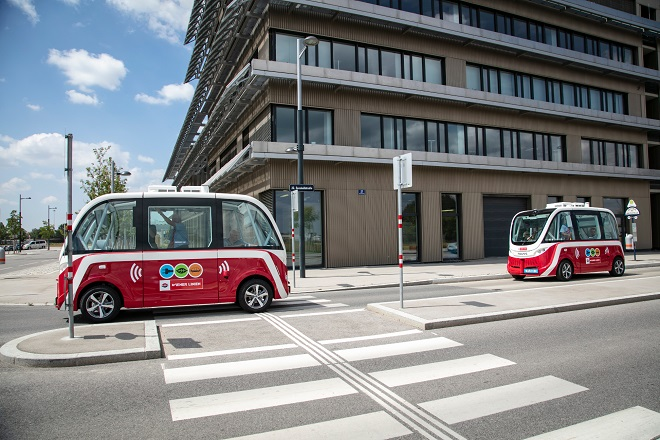 Novine u Beču u 2019. godini (foto: Autonomni autobus © Wiener Linien/Manfred Helmer)