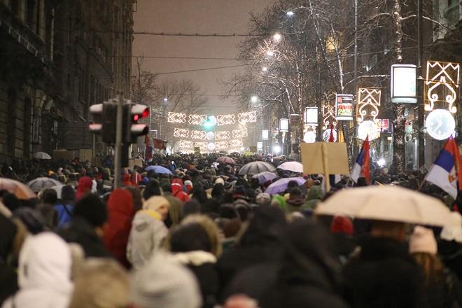 """Protest """"Jedan od pet miliona"""" (foto: Marko Popović)"""