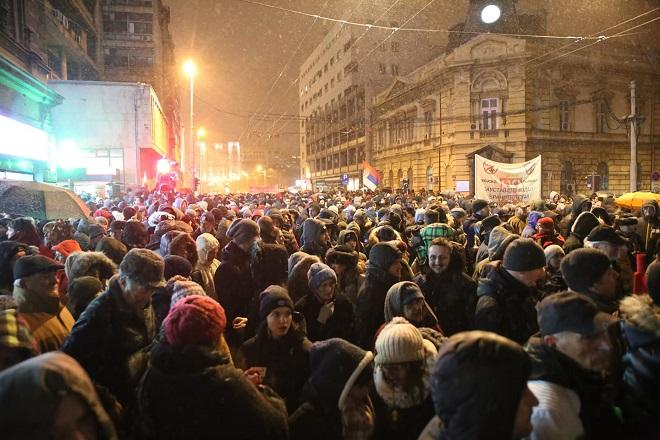 "Protest ""Jedan od pet miliona"" u Beogradu (foto: fb.com/1od5miliona)"
