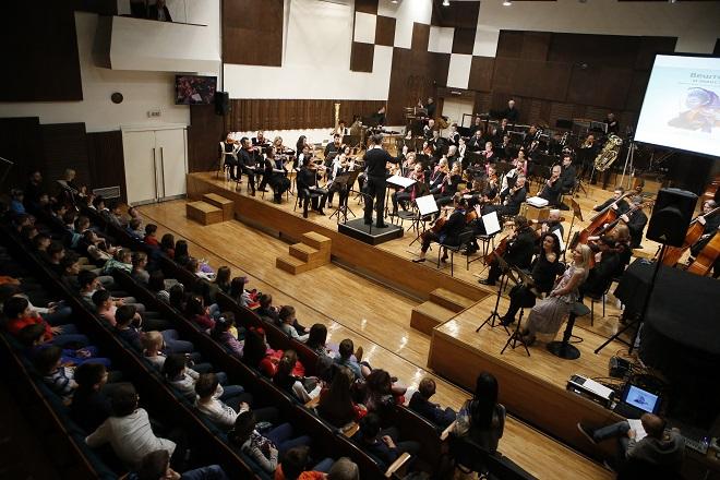 Beogradska filharmonija: Koncerti za školarce (foto: Marko Đoković)