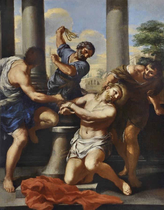 Pjetro Beretini – Bičevanje Hrista