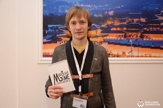 Svetski dan pantomime: Danilo Kotlikov (foto: WMO / F. Stojanović)
