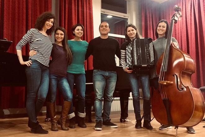 Koncert: Đakomo Mediči i Tanguango kvintet