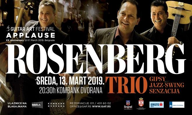 20. Guitar Art Festival: Rosenberg Trio