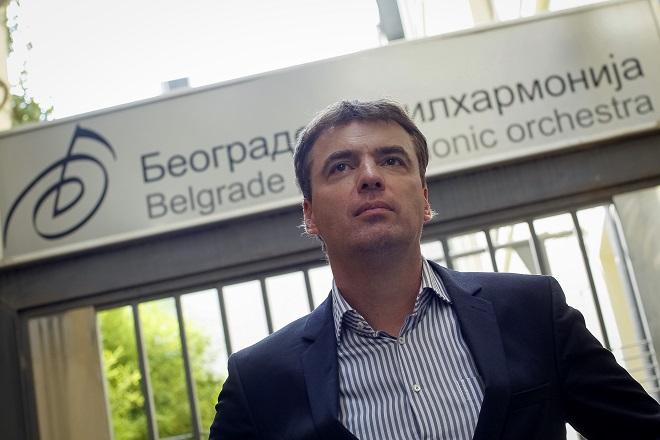 Beogradska filharmonija: šef dirigent Gabrijel Felc (foto: Marko Đoković)