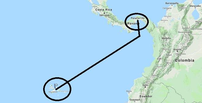 Daedalus Adventure - mapa: Galapagos