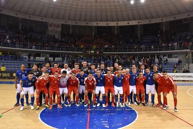 Futsal, prijateljski meč: Srbija - Brazil (foto: fss.rs)