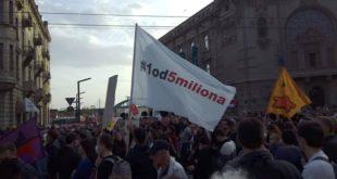 """Protest """"Jedan od pet miliona"""" (foto: #1od5miliona / poceloje.rs)"""