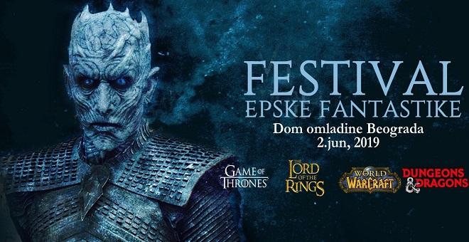 "10. Festival epske fantastike posvećen ""Igri prestola"""