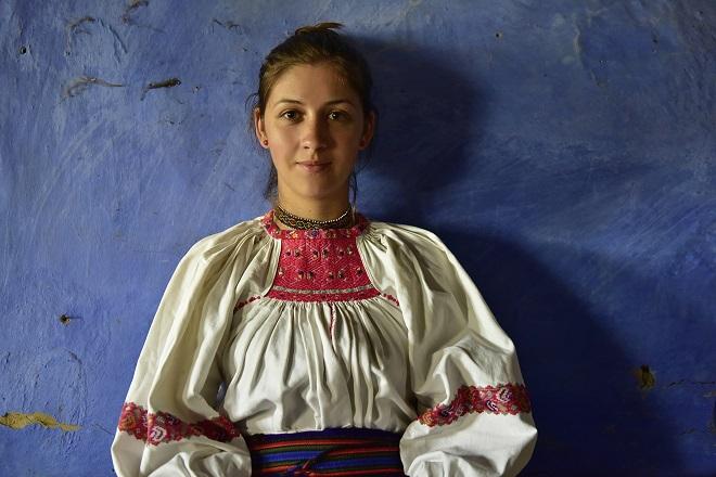 Etnology Fest: rumunska bluza (foto: Gabriel Motica)