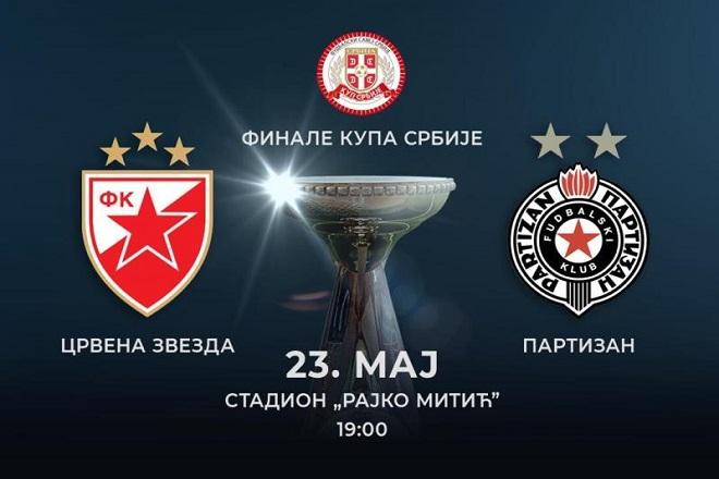 Finale Kupa Srbije: Večiti u borbi za pehar