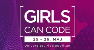 "Ženski hakaton ""Girls Can Code"""