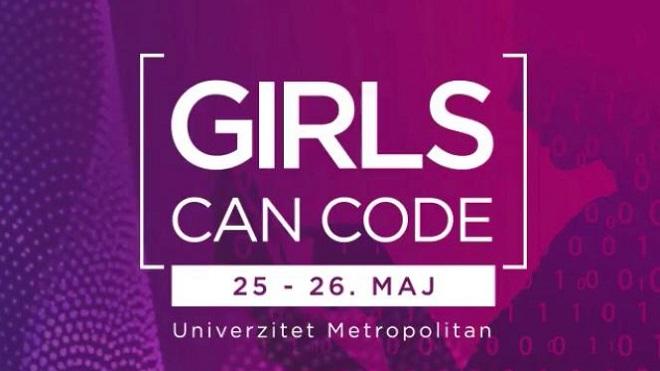 """Ženski hakaton """"Girls Can Code"""""""