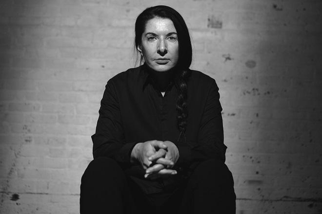 Marina Abramović (foto: Dušan Reljin)