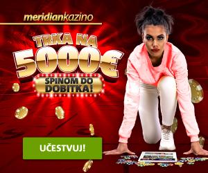 MeridianBet - Trka na 500 EUR