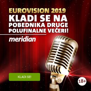 Meridianbet - Eurovision specijal