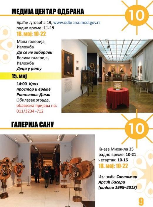 Muzeji za 10 2019 - program