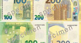 Novi izgled novčanica od 100 EUR i 200 EUR (foto: ecb.europa.eu)