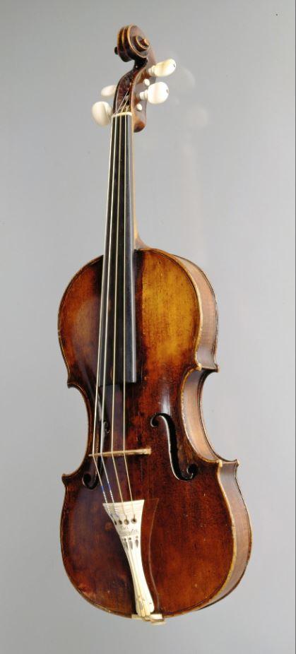 Mocartova violina (foto: Kunsthistorisches Museum Vienna)