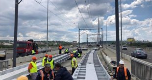 Tramvaji preko Mosta na Adi od 5. jula 2019.
