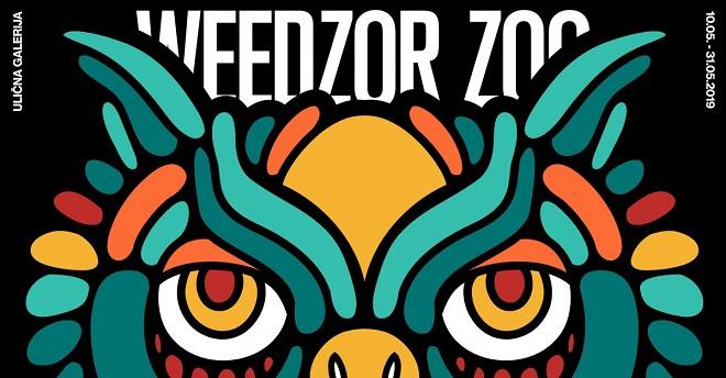 Ulična galerija: Ivan Vidović - Weedzor Zoo