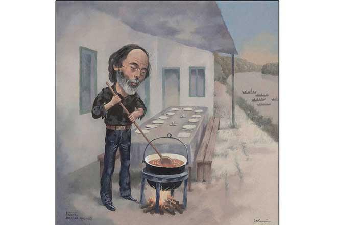 Zemunski međunarodni salon karikature 2019: Branko Najhold (autor: F. D. Krihana)