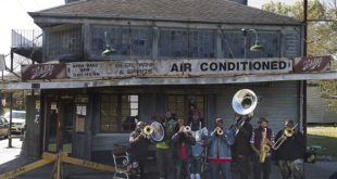 The Hot 8 Brass Band (foto: Melisa Fargo)