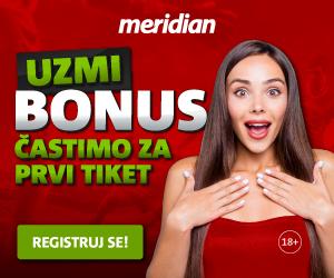 Meridianbet: Častimo za prvi tiket