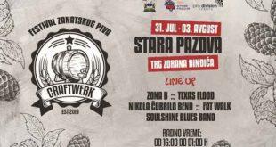 Craftwerk - festival zanatskog piva priv put u Staroj Pazovi